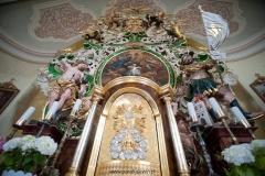 Kaplica św. Jana Nepomucena - wnętrze