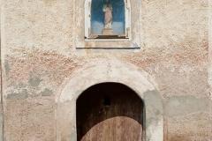 Kaplica w Jawornicy - widok na zewnatrz