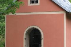 Kaplica w Jerzykowicach Małych - widok na zewnątrz