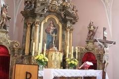 Kościół Parafialny po malowaniu wnętrza
