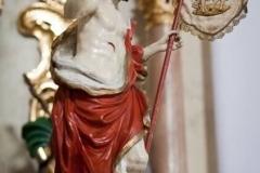 Ołtarz św. Antoniego po odnowieniu