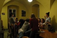 Ostatnie spotkanie z młodzieżą (czekoladowe)