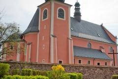 Widok na zewnątrz Kościoła